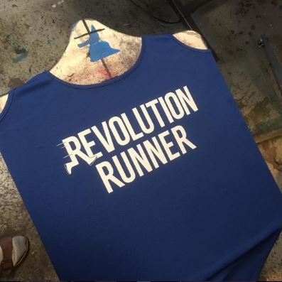 Run with jill t shirts seattle screen printing and for Seattle t shirt printing